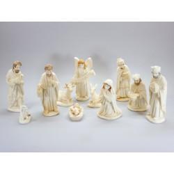 Nativité dans perle - 11 Cm