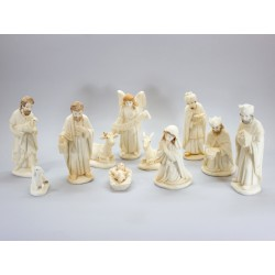 Nativity scenein Pearl - 11 Cm