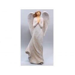 Ángel Manos en Oración