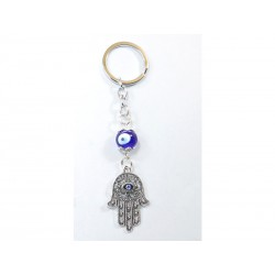 Keychain with Hand of Fátima
