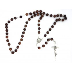 Rosary with Bills of Wood