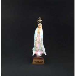 Nossa Senhora de Fátima Pintada C/Brilhantes